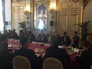 Pertemuan Brainstorming Tingkat Pejabat Tinggi (Senior Officials Meeting/SOM) di Paris, 27 Oktober 2016
