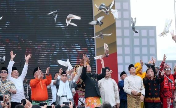 Deklarasi Kampanye Damai Pemilu Serentak 2019